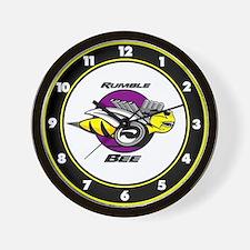 Rumble Bee Wall Clock