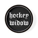 Hockey widow Wall Clock