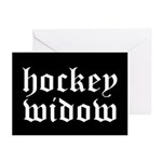 Hockey widow Greeting Cards (Pk of 10)
