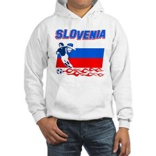 Slovenian Soccer Hoodie