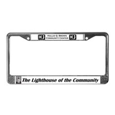Unique Hallie License Plate Frame