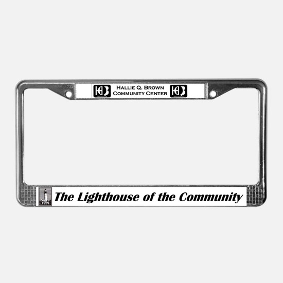 Cute Hallie License Plate Frame