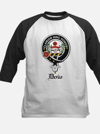 Dow Clan Crest Badge Kids Baseball Jersey