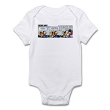 0451 - I never wanted to grow Infant Bodysuit