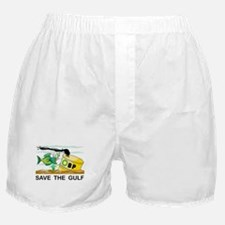 Save The Gulf Boxer Shorts