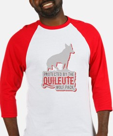 Protected by Quileute Wolfpac Baseball Jersey