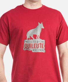 Protected by Quileute Wolfpac T-Shirt