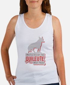 Protected by Quileute Wolfpac Women's Tank Top