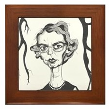 Flannery O'Connor Framed Tile