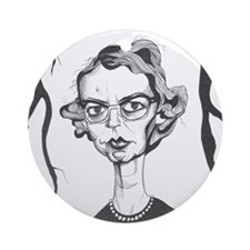 Flannery O'Connor Ornament (Round)