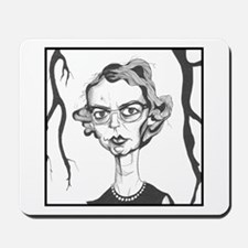 Flannery O'Connor Mousepad