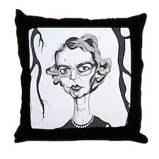Flannery O'Connor Throw Pillow