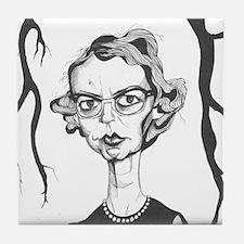 Flannery O'Connor Tile Coaster