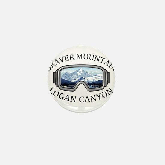 Beaver Mountain - Logan Canyon - Uta Mini Button