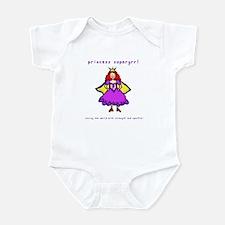 Princess Supergrrl Infant Bodysuit
