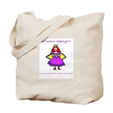 Princess Supergrrl Tote Bag