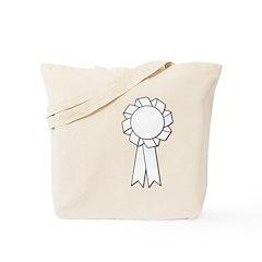 blank rosette Tote Bag