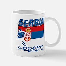 Serbian soccer Mug