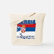 Serbian soccer Tote Bag