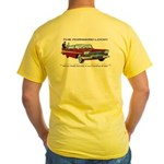 Yellow T-Shirt (With Front Logo)