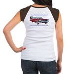 Women's Cap Sleeve T-Shirt (With Front Logo)