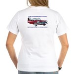 Women's V-Neck T-Shirt (With Front Logo)