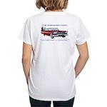 Women's V-Neck T-Shirt (Back Only)