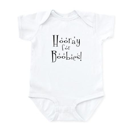 Hooray for Boobies Infant Creeper