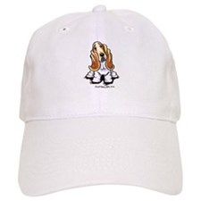 Basset Sit Pretty Baseball Cap