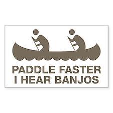 banjos_tan Decal