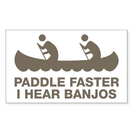 banjos_tan Sticker