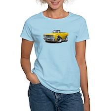 1967 Coronet Yellow Convertible T-Shirt