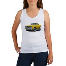 1967 Coronet Yellow Car Women's Tank Top
