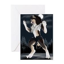 Werewolf Moon Greeting Card