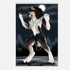 Werewolf Moon Postcards (Package of 8)