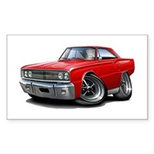 1967 Coronet Red Car Decal