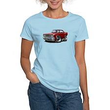 1967 Coronet Maroon Car T-Shirt