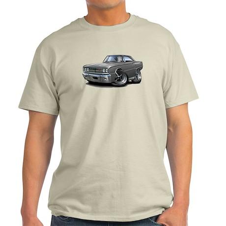 1967 Coronet Grey Car Light T-Shirt