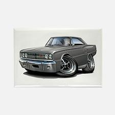 1967 Coronet Grey Car Rectangle Magnet