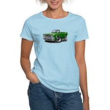 1967 Coronet Green Convertible T-Shirt