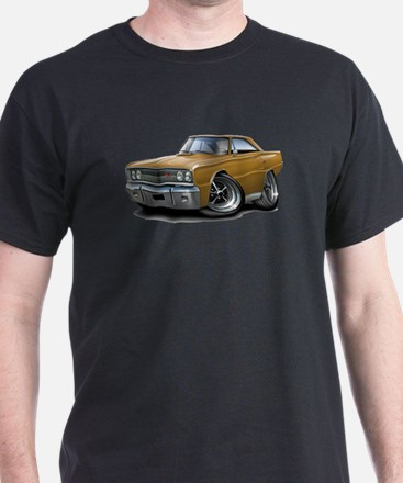 1967 Coronet Gold Car T-Shirt