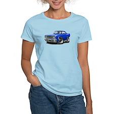 1967 Coronet Blue Car T-Shirt