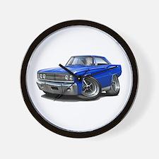 1967 Coronet Blue Car Wall Clock