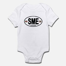 Suriname Euro Oval Infant Bodysuit