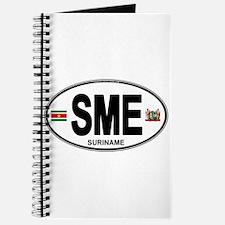 Suriname Euro Oval Journal