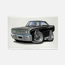 1967 Coronet Black Car Rectangle Magnet