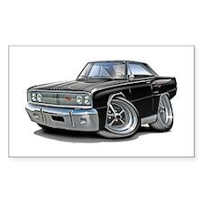 1967 Coronet Black Car Decal