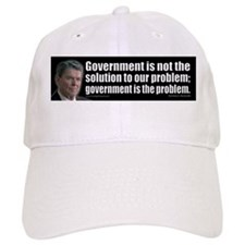Government is not... Baseball Cap