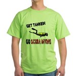 Get Tanked! Green T-Shirt