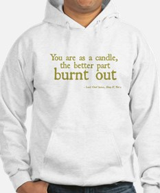 Candle Burnt Out Hoodie
